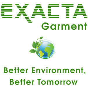 exacta garment sustainability computerized garment cutting grading marking fusing sewing green environment